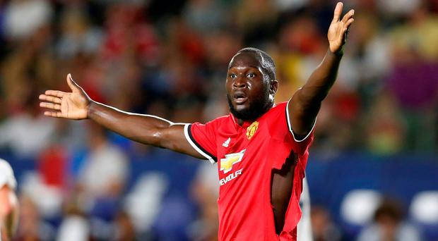 Romelu Lukaku moved to Manchester United for £75m earlier this month REUTERS/Lucy Nicholson