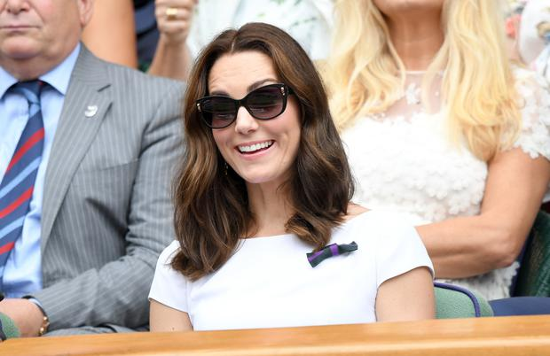Catherine, Duchess of Cambridge attends day 13 of Wimbledon 2017