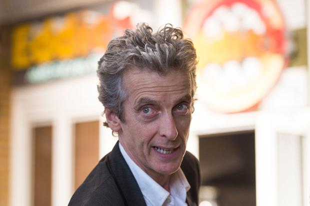 Peter Capaldi who plays the Doctor in BBC show