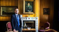 Taoiseach Leo Varadkar in his office in Government Building. Picture By David Conachy.