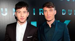 Barry Keoghan and Cillian Murphy at the Dublin Premiere of the film Dunkirk at the Lighthouse Cinema in Dublin.