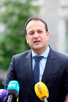 Leo Varadkar said he is 'very reluctant' to curtail free speech