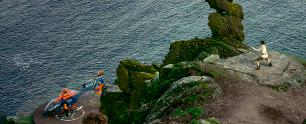 Skellig Michael images from the video, which has been called a 'major coup' for tourism in Ireland