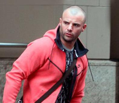 Gareth Chubb pictured on the streets of Belfast at the weekend. Picture: Sunday World