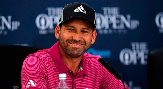 Garcia would have won in 72 holes if his par putt on the last hole didn't defy gravity and stay out. Photo: Getty Images