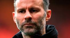 Open mind: Giggs. Photo credit: Nick Potts/PA Wire