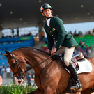 Jonty Evans on Cooley Rorkes Drift at the Olympic Equestrian Centre. Photo by Stephen McCarthy/Sportsfile
