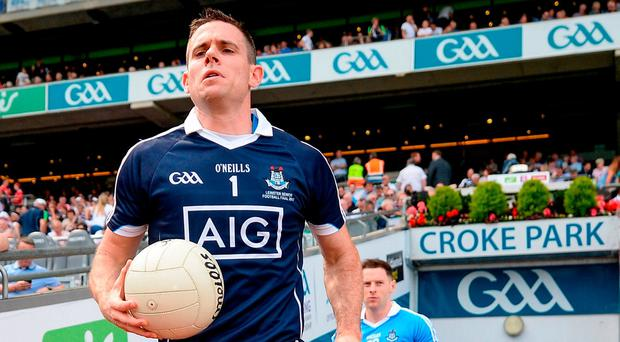 Having won the last two Sam Maguires, Dublin look to be out in front of the pack again, however, the gap appears to be closing. Photo: Seb Daly/Sportsfile