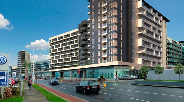Ireland's biggest private residential landlord, Ires Reit, is set to make a financial killing on its acquisition and investment in apartments in Sandyford, in south Co Dublin.