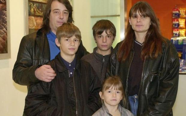 The parents of murdered schoolgirl Sarah Payne, Michael and Sara, and her siblings Luke (left), Lee and Charlotte Credit: PA