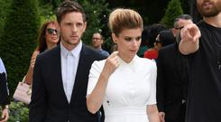 PARIS, FRANCE - JUNE 24: Jamie Bell and Kate Mara attend the Dior Homme Menswear Spring/Summer 2018 show as part of Paris Fashion Week on June 24, 2017 in Paris, France. (Photo by Pascal Le Segretain/Getty Images)