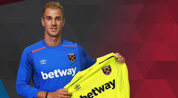 Image result for Joe Hart West Ham