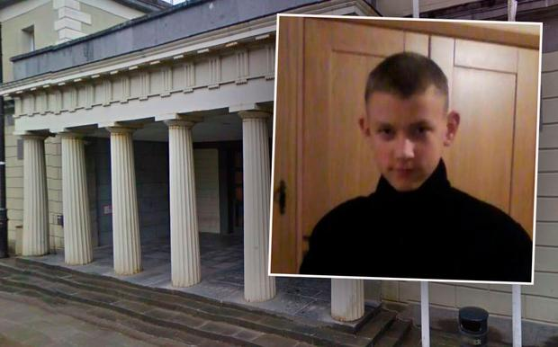 Dovydas Jenkas (inset) died from a single stab wound, State Pathologist tells murder trial