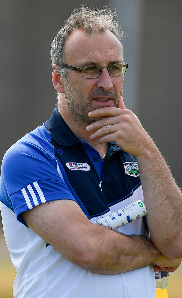 Laois manager Peter Creedon. Photo: Sportsfile