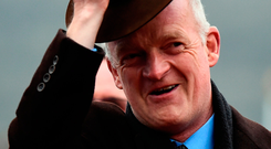 Willie Mullins: Can land bumper. Photo: Sportsfile