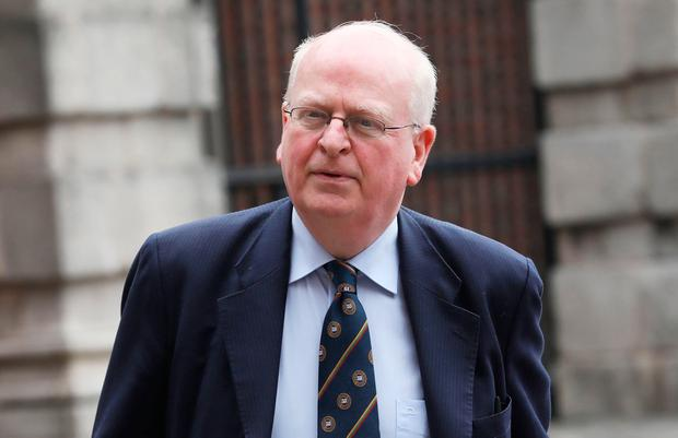 Michael McDowell at the The Disclosures Tribunal. Photo: Collins Photos