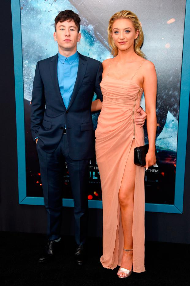 Barry Keoghan and Shona Guerin attends the