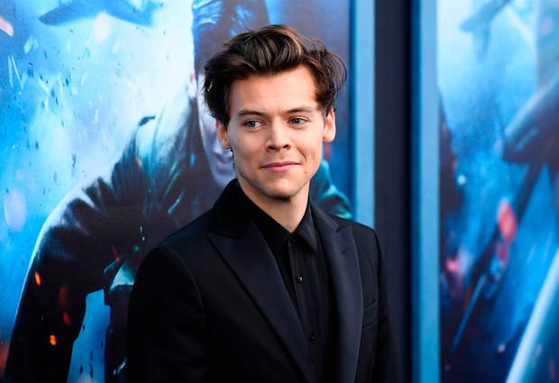 Singer/actor Harry Styles attends the Warner Bros. Pictures 'DUNKIRK' US premiere at AMC Loews Lincoln Square on July 18, 2018 in New York City. / AFP PHOTO / ANGELA WEISSANGELA WEISS/AFP/Getty Images