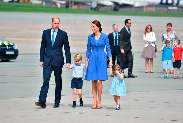 Royals commence tour of Poland and Germany