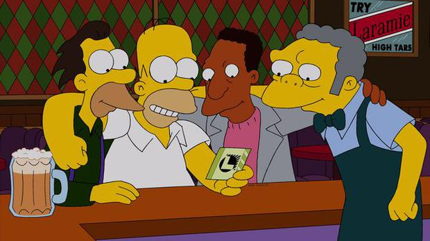 Maybe Moe Gets a Cell Phone, The Simpsons