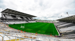 A general view of the new Pairc Uí Chaoímh