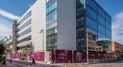The Exchange Building in the IFSC is due for completion ahead of schedule on September 28