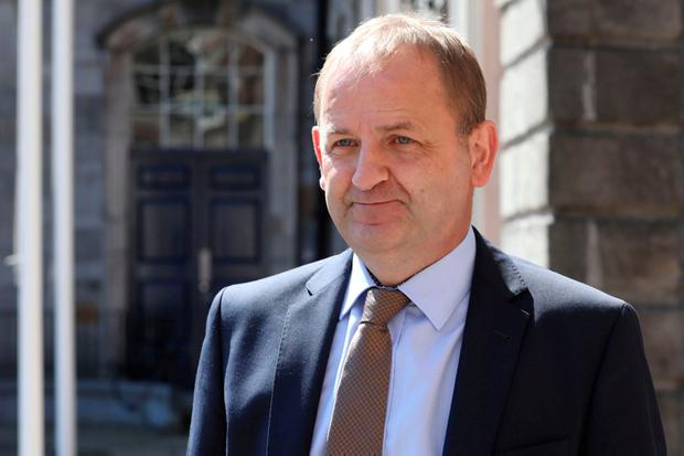 Sergeant Maurice McCabe at the Disclosures Tribunal in Dublin Castle. Photo: Collins