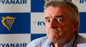Ryanair boss Michael O'Leary. Photo: Bloomberg