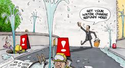 'Ireland is virtually alone in Europe in having failed to persuade its citizens that water charges are essential, inevitable and worth embracing, and that conservation is something that has an actual benefit to us all'
