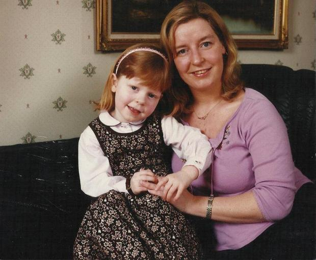 Danielle Wilson, now 19, pictured with her late mum