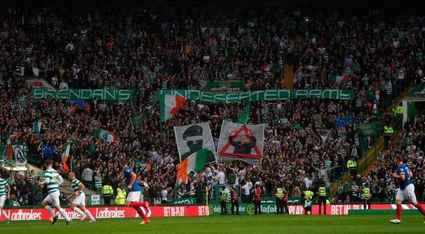 Celtic to close Green Brigade section amid 'safety concerns'