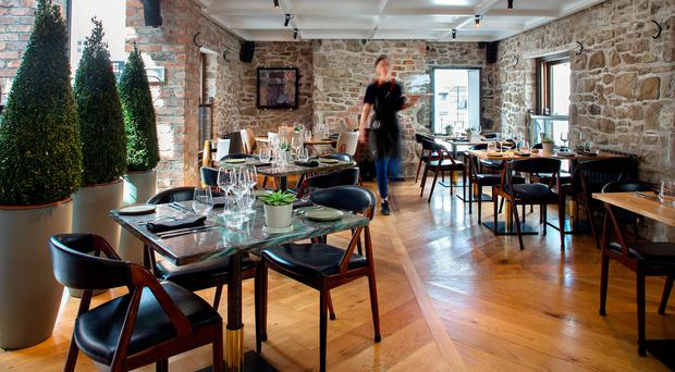 The Old Street restaurant in Malahide. Photo: Tony Gavin