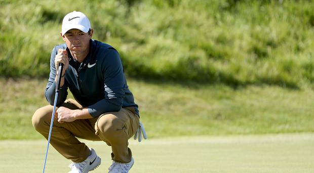 Rory McIlroy concedes Open Championship hopes are over after missed opportunity