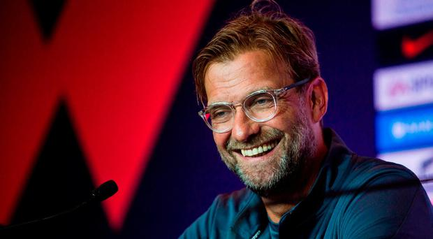 Jurgen Klopp relishing