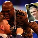 Conor McGregor will fight Floyd Mayweather on August 26 and Eric Donovan (inset) is not impressed