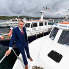 Paul Devane on his boat 'Marber Therese II' at the Marina in Portmagee, Co Kerry. Picrture: Domnick Walsh