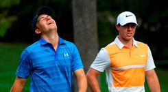 Jordan Spieth and Rory McIlroy Photo: Getty