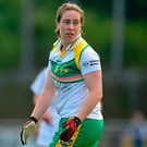Siobhán Flannery of Offaly. Photo: Piaras Ó Mídheach / SPORTSFILE