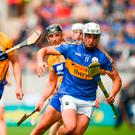 Patrick Maher of Tipperary in action against Conor Cleary of Clare