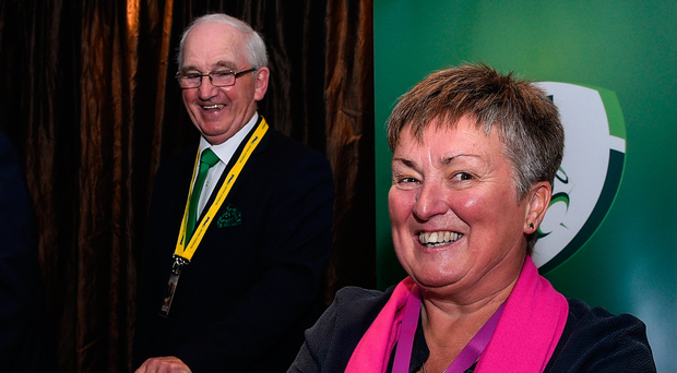 Niamh O'Donoghue has become the first woman on the FAI's board of management. Photo: Sportsfile