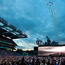 U2 on stage at Croke Park last night Picture: Steve Humphreys