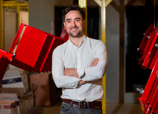 Colin Devine, who is aiming to lead Design and Display to a profitable future, at the firm's base in Bluebell industrial estate, Dublin. Photo: Mark Condren