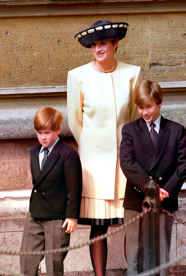 The Duke of Cambridge and Prince Harry have revealed their intimate thoughts about their mother in a documentary featuring her closest family and friends. Picture: PA