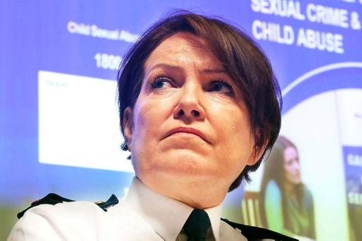 Garda Commissioner Nóirín O'Sullivan. Photo: Collins