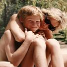 This photograph released by Kensington Palace, from the personal photo album of the late Diana, Princess of Wales, shows the princess and Prince Harry on holiday and features in the new ITV documentary 'Diana, Our Mother: Her Life and Legacy', which airs on ITV at 21.00hrs on Monday 24th July. The Duke of Cambridge and Prince Harry.