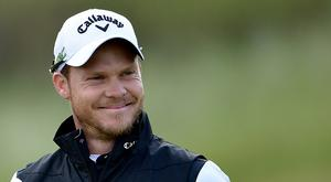 Danny Willett of England smiles during the first round of the 146th Open Championship at Royal Birkdale on July 20, 2017 in Southport, England. (Photo by Stuart Franklin/Getty Images)