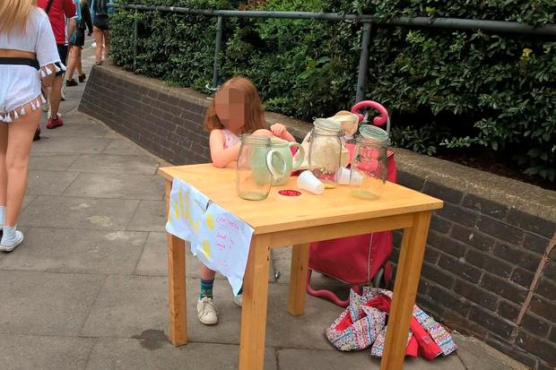 5-Year-Old Girl Fined By Police For Selling Lemonade