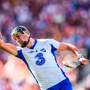 Maurice Shanahan of Waterford celebrates after scoring a second half point