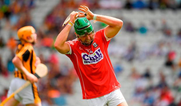 Willie Leahy reflects on a missed goal chance. Photo: Ray McManus/Sportsfile