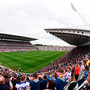 Wexford and Waterford fans in Cork's revamped Páirc Uí Chaoimh. Photo: Sportsfile